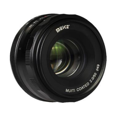 Lensa Meike 50mm f2.0 For Mirrorless Sony E-Mount