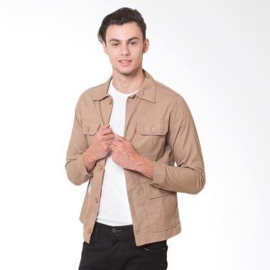 Oliveinch Engineering Jacket Merlin Pria - Khaki