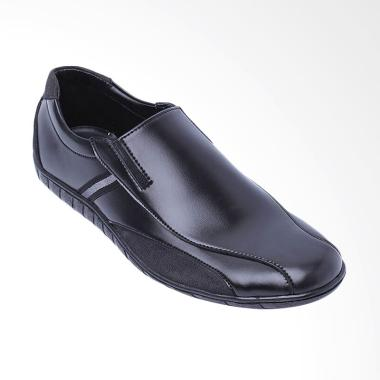 Edberth Turin Sepatu Slip On Pria - Black