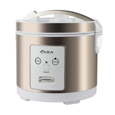 Kirin KRC-289 Rice Cooker - Gold