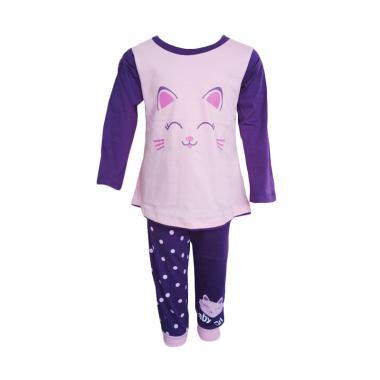 Dessan Long Sleeves Cat Baju Tidur Anak