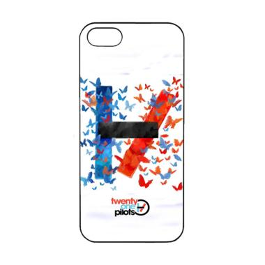Acc Hp 21 Pilots Red Blue H0002 Casing for iPhone 5 or 5S