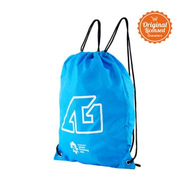 Asian Games 2018 Drawstring Backpack - Blue