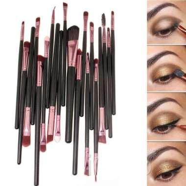 harga New Kuas Make Up UK Professional Cosmetic Brush 20 Set Limited Blibli.com