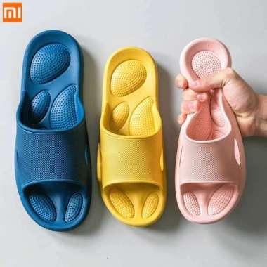 harga Dijual Xiaomi Mijia Sandal Slop Pria Wanita Eva Anti Slip Shock Absorber - Light Blue 41 - 42 Murah Blibli.com