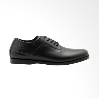 Brodo Toba Sepatu Formal - Full Black