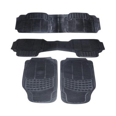 DURABLE Comfortable Universal PVC K ... ijang LGX - Black [4 pcs]