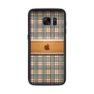 Acc Hp Burberry Apple L1306 Custom Casing for Samsung Galaxy S7