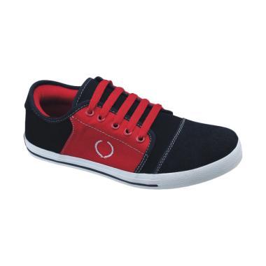 Syaqinah 007 Sepatu Sneaker Anak Laki-Laki - Hitam Merah
