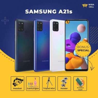 harga Samsung Handphone Android A21s 3 GB/32GB Garansi Resmi 1 Tahun Gratis aksesoris Blibli.com