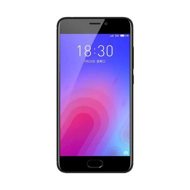 Meizu M6 Smartphone - Black [16 GB/2 GB]+ Free Tongsis Cable