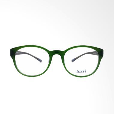 TOSSI 640 Frame Kacamata - Green Grey