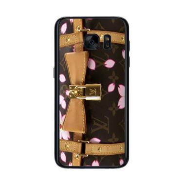 Acc Hp Louis Vuitton Bag Brown Flow ... asing for Samsung S7 Edge