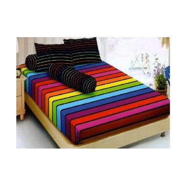 Kintakun Motif Rainbow Set Sprei [1 ... akter Anak [150 x 200 cm]