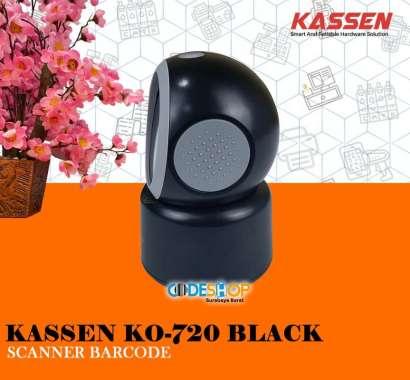 harga BARCODE SCANNER OMNI KASSEN KO-720 1D&2D (QR) WHITE-BLACK - Putih HITAM Blibli.com