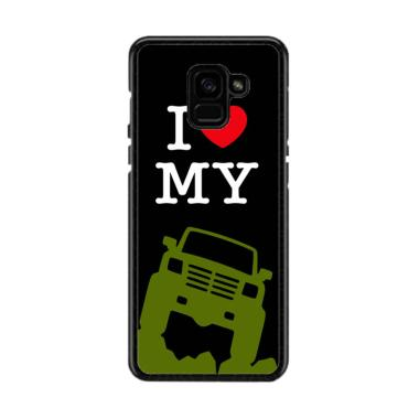 Acc Hp I Love My Jeep L2346 Custom Casing for Samsung A5 2018