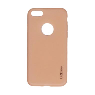 Lize Slim Case Iphone 8 Softcase Iphone 8 Casing iPhone 8 - Pink Peach