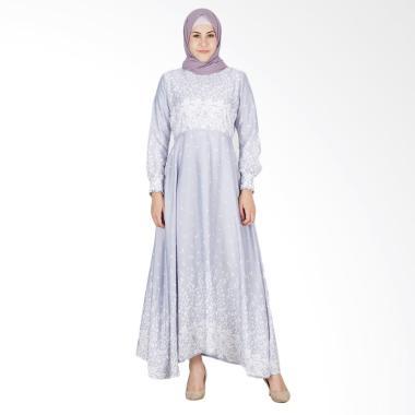 LAMAK Olivia Dress Muslim Wanita - Grey