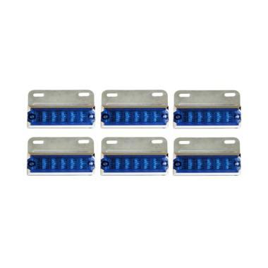 DNY 91 LED Lampu Mobil - Biru [6 pcs]