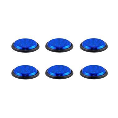 DNY 555 LED Lampu Mobil - Biru [6 pcs]