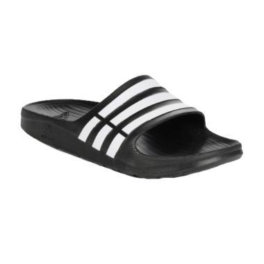 adidas Duramo Slide Men Sandal Olahraga Pria - Black [G15890]