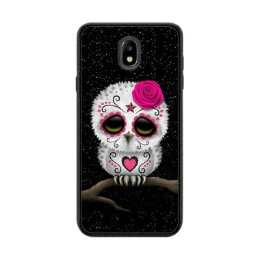 Cococase Cute Pink Day Of The Dead Sugar Skull Owl L2333 Casing For Samsung Galaxy J7