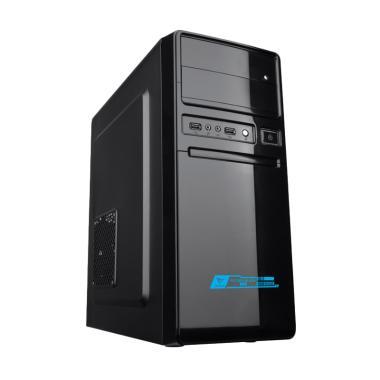 Alcatroz Futura 1000 Casing Komputer - Black