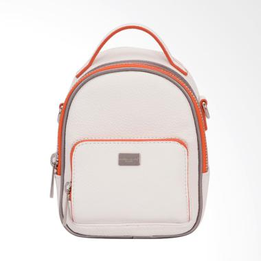 David Jones CM3790 Mini Backpack Wanita - White