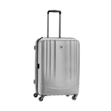 Cat Turbo Spinner Luggage Trolley Bag - Grey [24 Inch]