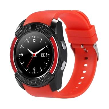 Xwatch V8 Smartwatch for Android or iOS  - Merah