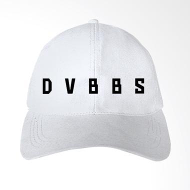 IndoClothing DVBBS 01 Topi Baseball - Putih