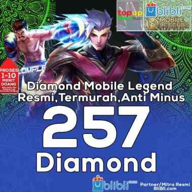 Mobile Legends - 257 Diamond