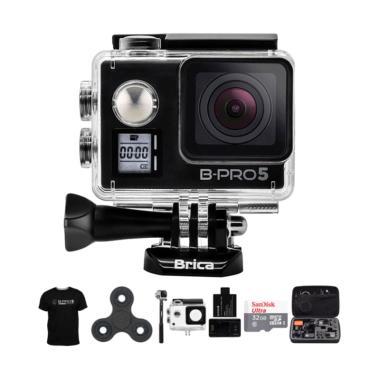 Brica B-PRO 5 AE Mark IIs AE2s Comb ... pin Action Camera - Hitam