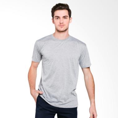 VM Kaos Oblong Polos Big T-Shirt Pria [Jumbo Size]