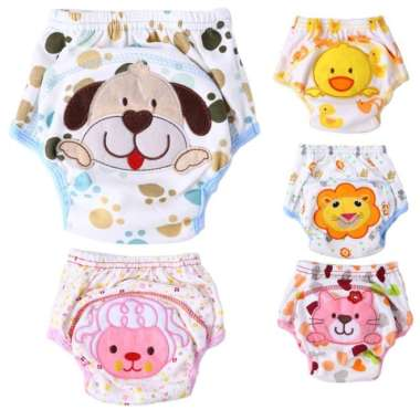 harga Celana Popok Kain - Clodi Bayi Bahan Katun Dapat Digunakan Kembali Semua Ukuran Multicolor Blibli.com
