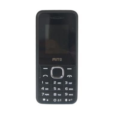 Mito 105 Candybar Handphone - Black Red [Dual SIM]