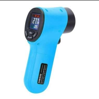 harga Termometer infrared suhu makanan susu bayu air panas HW55 - Biru (Kode 010)) multicolor Blibli.com