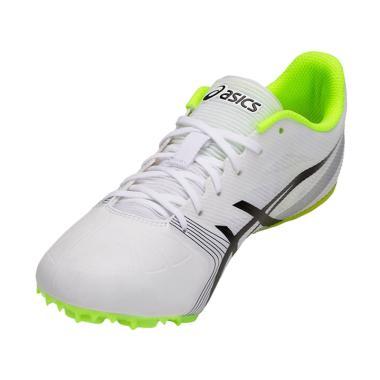 Asics Hyper Sprint 6 Sepatu Lari Unisex - White Black