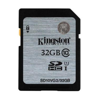 harga Kingston SD10VG2/ 32GBFR SD Card [32GB] Blibli.com