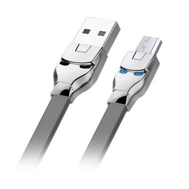 ZOLA Marvel Fast Charge & Sync Kabe ... USB - Grey [100 cm/ 2.1A]