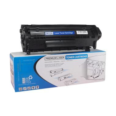 Aiflo Q2612A 12A Toner Cartridge Compatible for Printer HP - Black