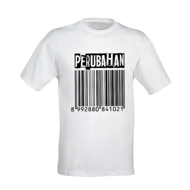 Musica Studios D'Masiv Barcode T-Shirt Merchandise - Putih