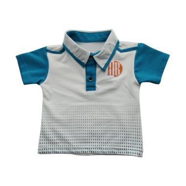 GLOWFish WK638 Polo Shirt Anak Laki-laki - Putih [0-5 Tahun]