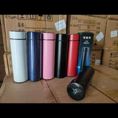 harga H217 Termos Vacuum Termometer Suhu Air Stainless 304 - Putih Multicolor Blibli.com