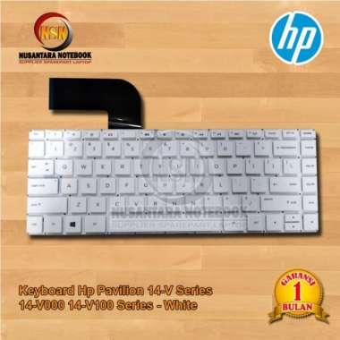 harga Keyboard Hp Pavilion 14-V 14-V000 14-V100 Series (US) - White Blibli.com