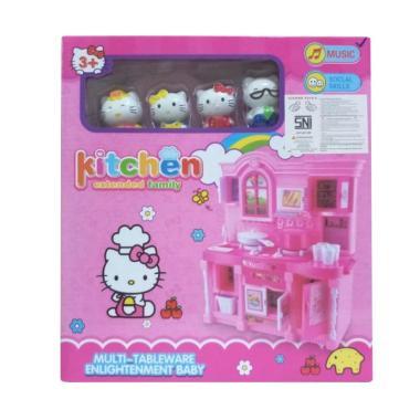 Hello Kitty Kitchen Set Family Mainan Anak