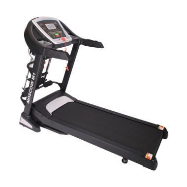 iReborn Moscow M1 Treadmill Alat Fitness - Hitam [Jabodetabek]
