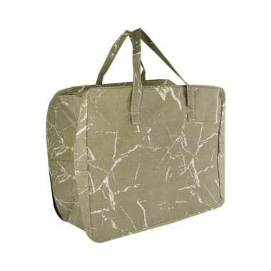 harga Ataru tas penyimpanan besar dengan pegangan 50x40x23 cm - marble Blibli.com
