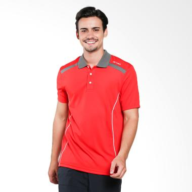 YONEX Men Polo T-Shirt - Aura Orange [PM-G017-929-28B-17-S]