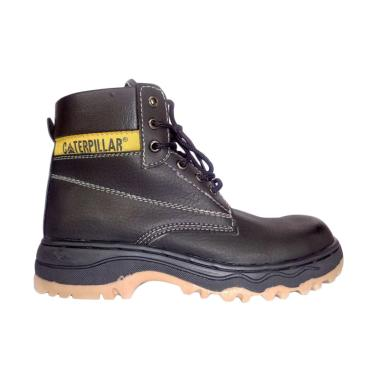 Caterpillar Trade Sepatu Safety Pria - Hitam